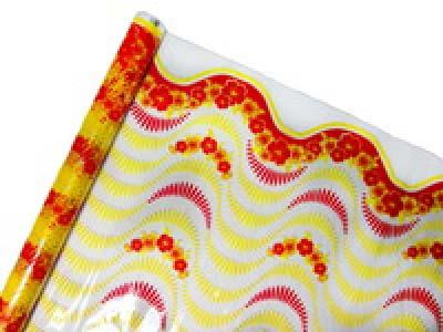 Пленка для упаковки с цветным рисунком