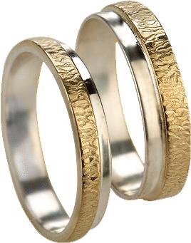 Кольцо без вставок из золота 585