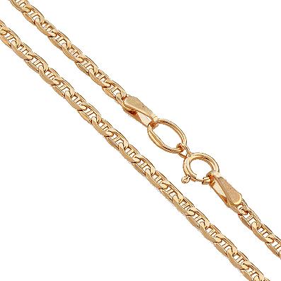Цепь (цепочка) из красного золота