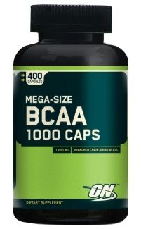 BCAA 1000 Caps (Optimum Nutrition), 400 капс