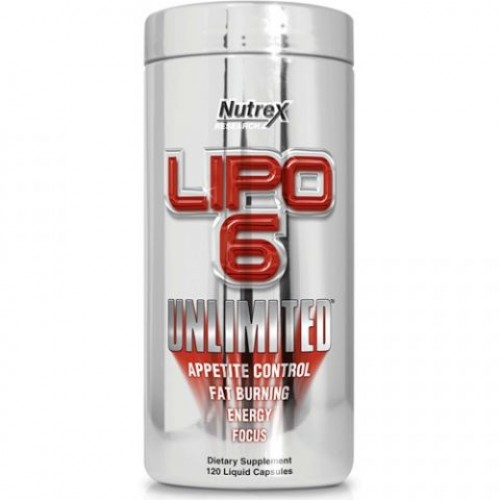 Nutrex Lipo 6 Unlimited 120 капс