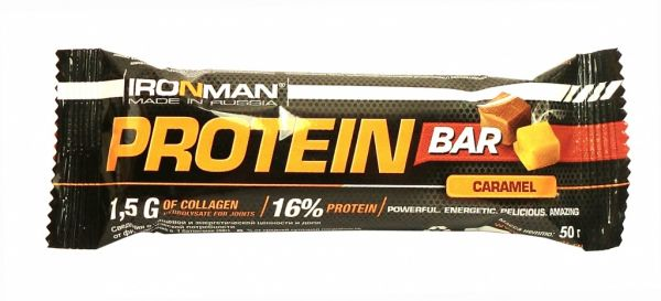 Protein Bar (ironMan), 50 г, Банан
