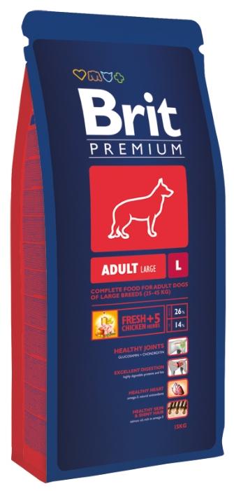 Brit Premium Adult L (15 кг)