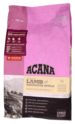 Acana Lamb & Okanagan Apple (18 кг)